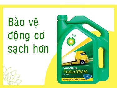 BP Vanellus Turbo 15W-40, 20W-50 CF-4/SF